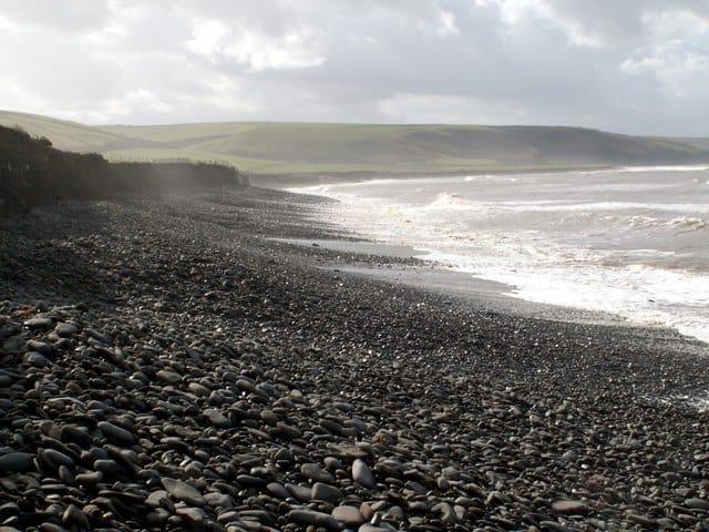 Llansantffraid-beach