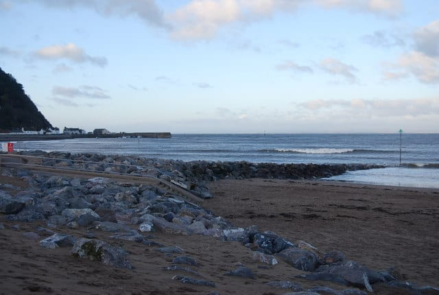 The Strand beach, Minehead, Somerset