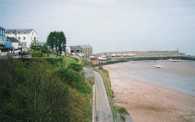 Harbour beach, New Quay, Ceredigion