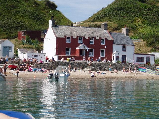 Porth Dinllaen beach, Llyn Peninsula, Gwynedd