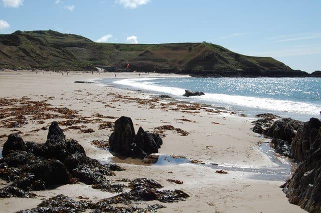 Whistling Sands beach, Llyn Peninsula, Gwynedd