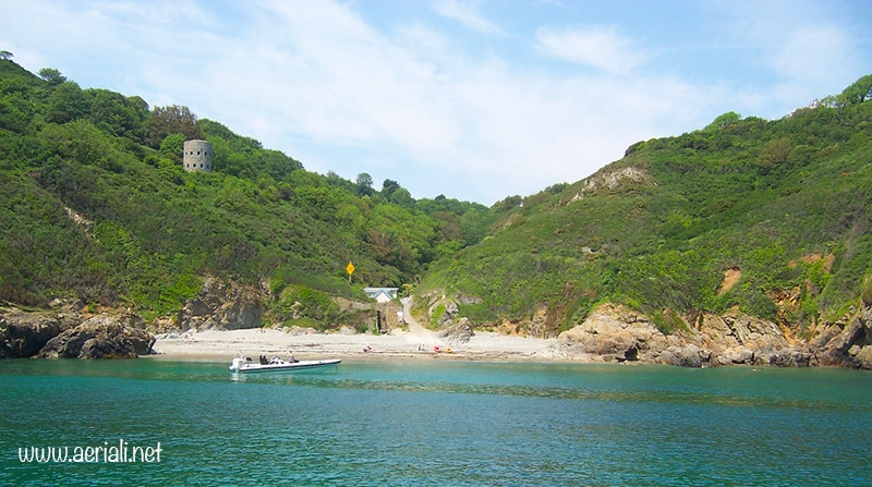 Saints Bay beach, Saint Martin, Guernsey, Channel Islands