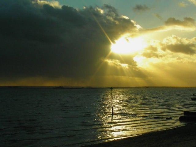 Jubilee beach, Southend-on-Sea, Essex