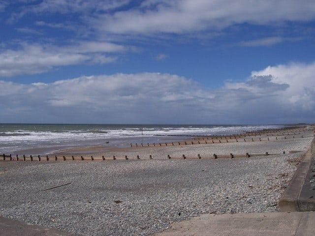 Tywyn beach, Tywyn, Ceredigion
