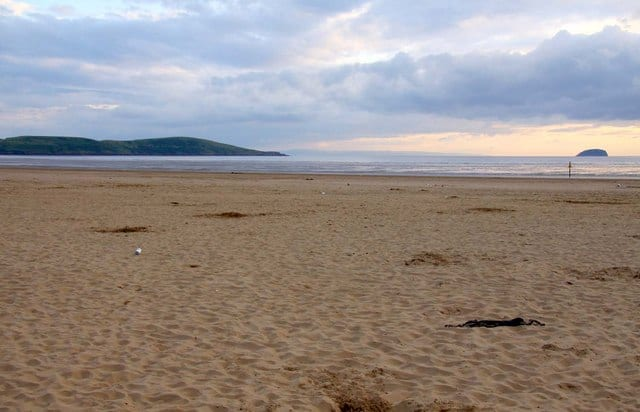 Weston-super-Mare beach, Somerset