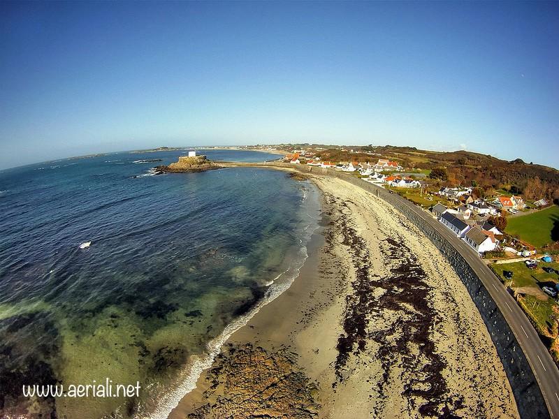 Rocquaine beach, Rocquaine Bay, Saint Peter, Guernsey