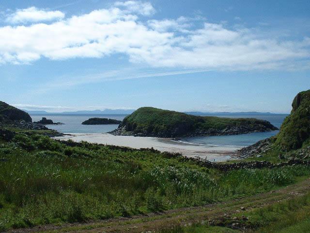 Kilvickeon beach, Isle of Mull, Inner Hebrides