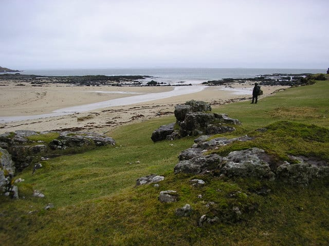 Langamull beach, Isle of Mull, Inner Hebrides