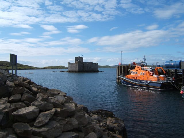 Barra Island lifeboat station, Isle of Barra, Outer Hebrides