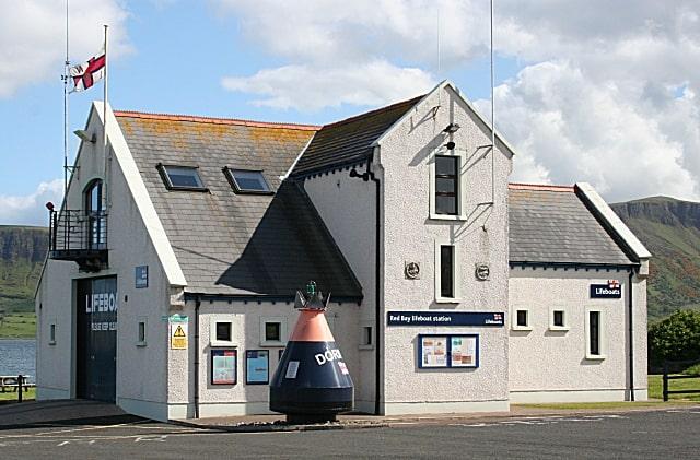 Red Bay lifeboat station, Antrim