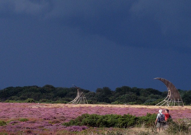 Dunwich Heath, Dunwich, Suffolk