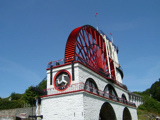Laxey Wheel, Laxey, Isle of Man