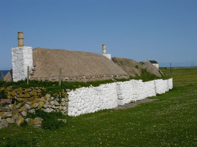 Taigh Iain Mhoir, Tiree Island, Inner Hebrides