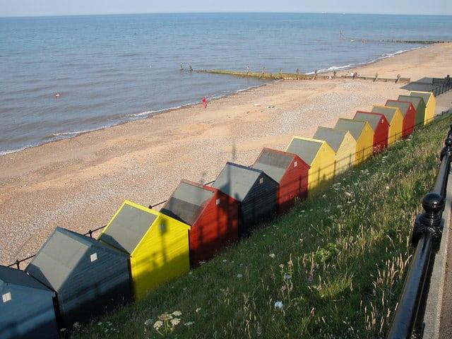 Mundesley beach, Mundesley, Norfolk