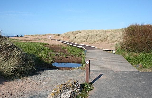 Balmedie Country Park beach, Aberdeen