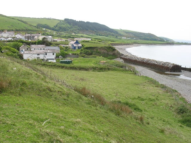 Aberarth-beach