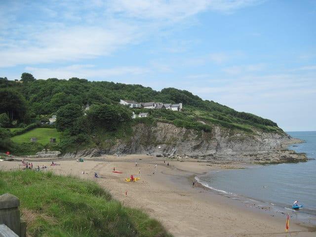 Aberporth-beach