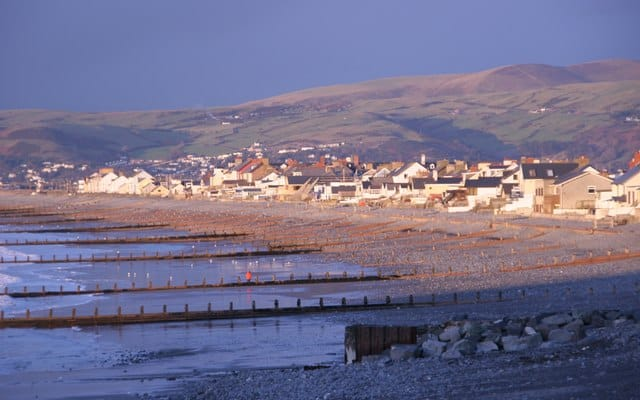 Borth beach, Borth, Ceredigion