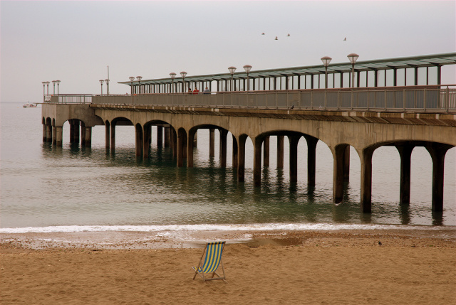 Boscombe Pier beach, Boscombe - Bournemouth, Dorset