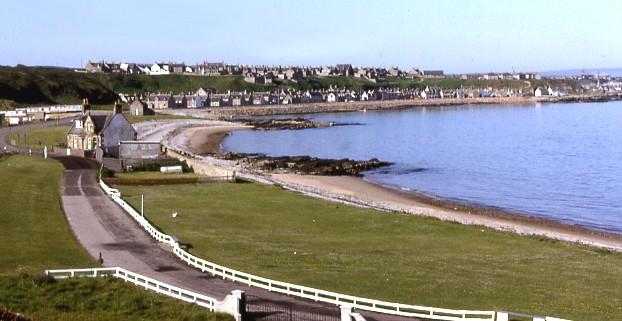 Buckie beach, Buckie, Moray