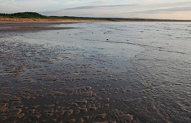 Burghead beach, Elgin, Moray