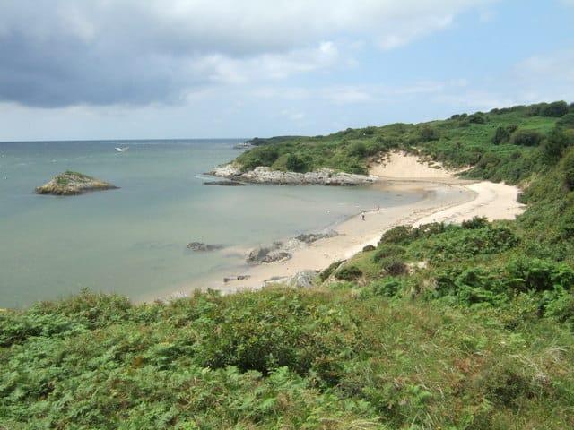 Carreg Wen beach, Porthmadog, Gwynedd