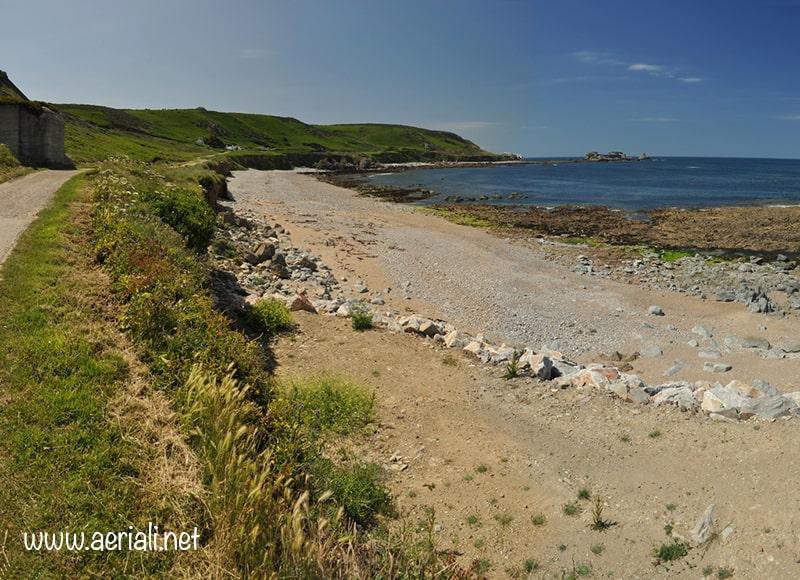 Clonque beach, Alderney, Guernsey, Channel Islands