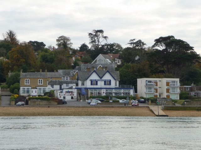 Cowes beach, Cowes, Isle of Wight