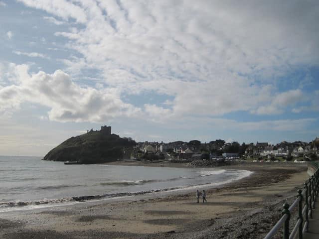 Criccieth beach, Llyn Peninsula, Gwynedd