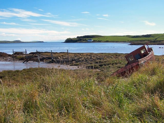Ross Bay beach, Kirkcudbright, Dumfries and Galloway