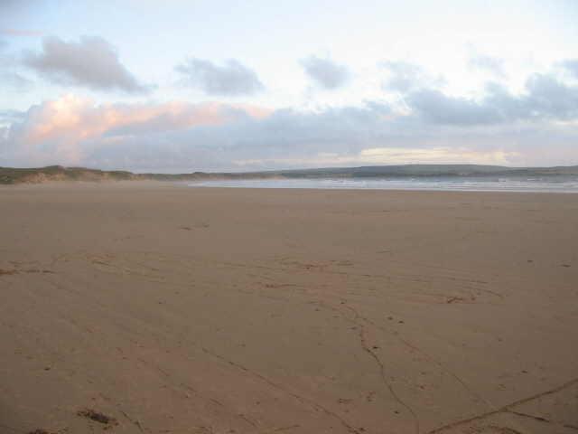Dunnet beach, Dunnet, Thurso, The Scottish Highlands