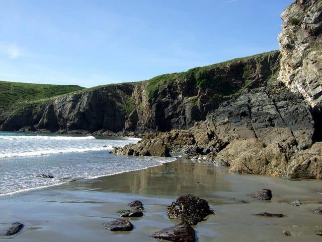 Pwllcrochan beach, Fishguard, Pembrokeshire