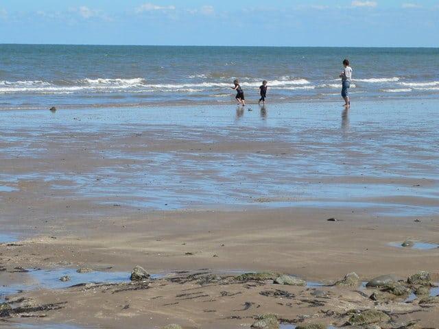 Old Colwyn beach, Colwyn Bay, Wales