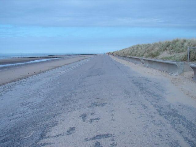 Ffrith Beach Parking