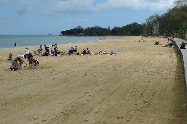 Ryde beach, Ryde, Isle of Wight