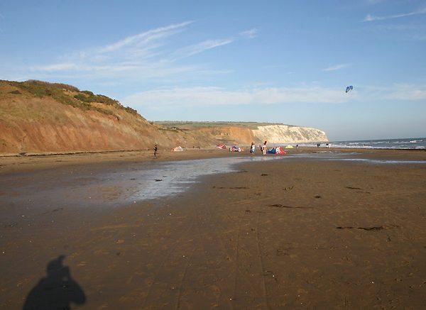 Yaverland beach, Sandown, Isle of Wight