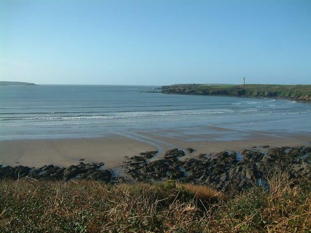 Sandy Haven beach, Herbrandston, Milford Haven, Pembrokeshire