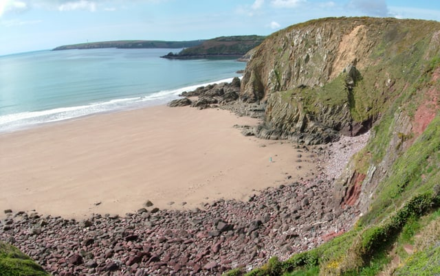 St Ishmaels beach, St Ishmaels, Milford Haven, Pembrokeshire