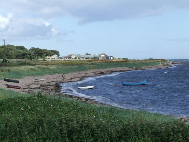 West Haven beach, Carnoustie, Angus