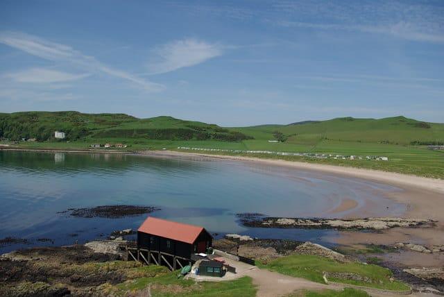 Dunaverty Bay beach, Kintyre, Argyll and Bute