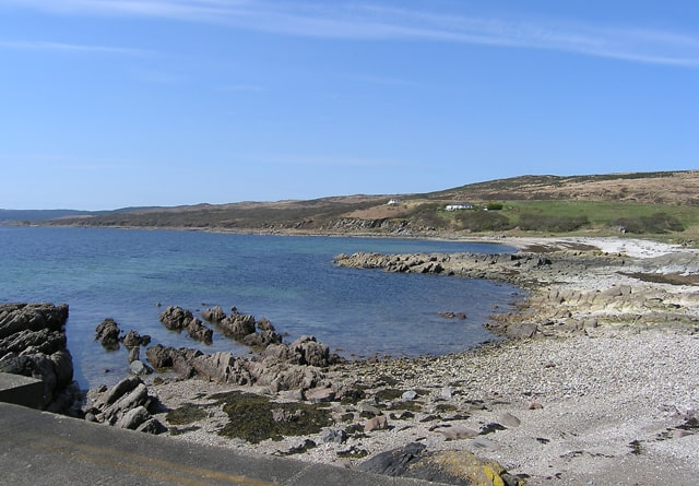 Claonaig beach, Kintyre, Argyll and Bute