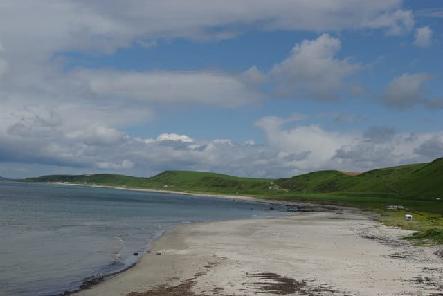 Bellochantuy Bay beach, Kintyre, Argyll and Bute