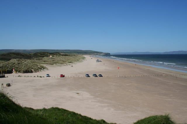 Portstewart Strand beach, Strand Rd, Portstewart, Coleraine, Derry