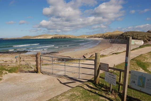 Balnakeil Bay beach, Durness, The Scottish Highlands