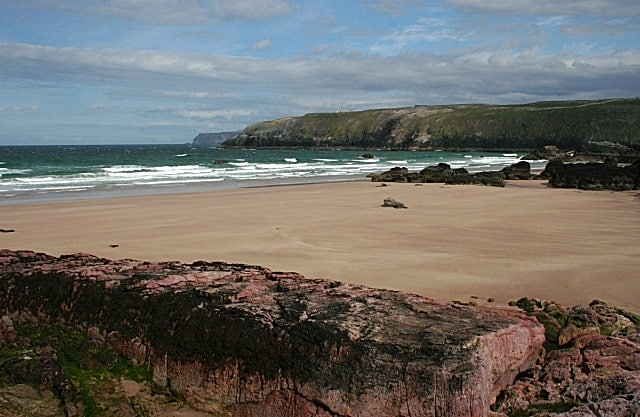 Sango Bay beach, Durness, The Scottish Highlands