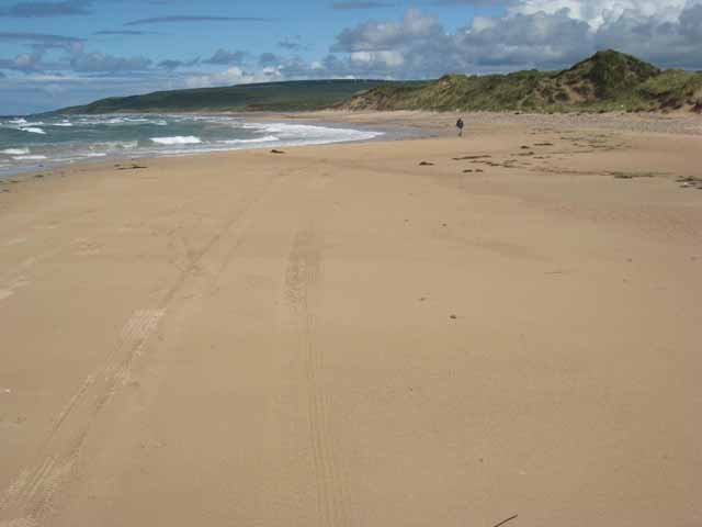Machrihanish beach, Kintyre, Argyll and Bute