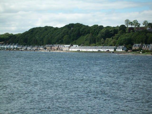 Avoch Bay beach, Avoch, Inverness, The Scottish Highlands