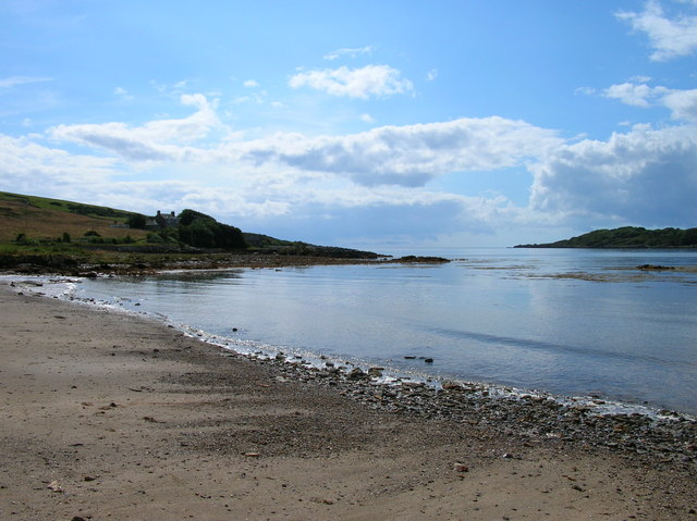 Brighouse Bay beach, Kirkcudbright, Dumfries and Galloway