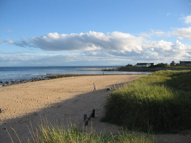 Brora beach, Brora, The Scottish Highlands