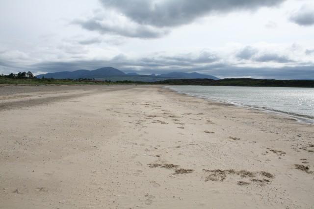 Carradale Bay beach, Kintyre, Argyll and Bute